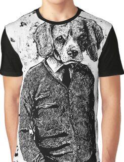 Temporary Beagle Graphic T-Shirt