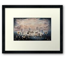 Raleigh Nocturne Framed Print