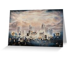 Raleigh Nocturne Greeting Card