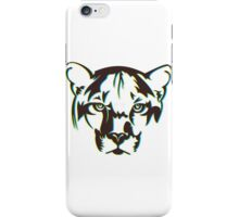 abstract tiger face iPhone Case/Skin