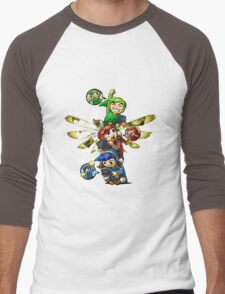 zelda Men's Baseball ¾ T-Shirt