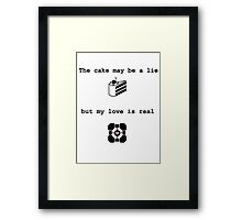 Portal Love (2) Framed Print