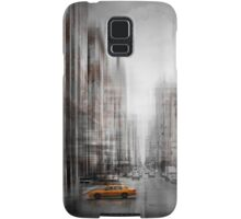 City-Art NYC 5th Avenue Yellow Cab Samsung Galaxy Case/Skin