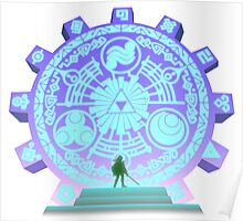 The Legend of Zelda - Door of Time Poster