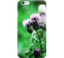 Thistle-in' a Second Tune iPhone Case/Skin