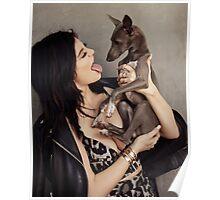 Kylie Jenner - Dog Lover Poster