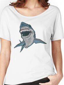 Attacking Shark Women's Relaxed Fit T-Shirt