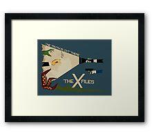 The X-Files Framed Print