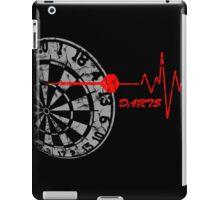 DARTS, Dart Board, heartbeat iPad Case/Skin