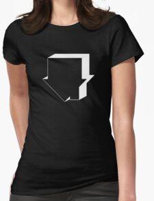 Neighbourhood house reverse band Womens Fitted T-Shirt