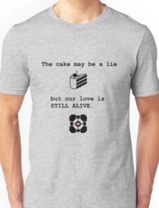 Portal Love (1) Unisex T-Shirt