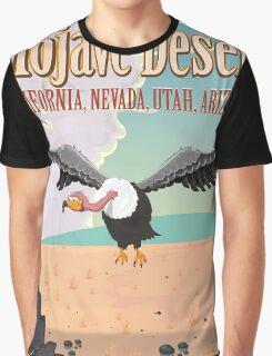 Mojave Desert cartoon vacation poste Graphic T-Shirt