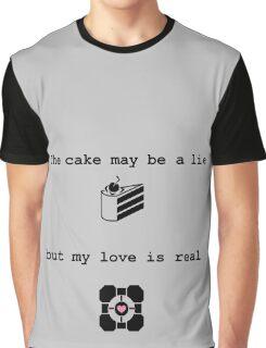 Portal Love (2) Graphic T-Shirt