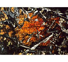 Pyroxene Crystals 2 Photographic Print