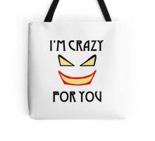 Joker love Tote Bag