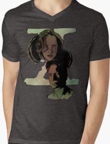 X-Files Mens V-Neck T-Shirt