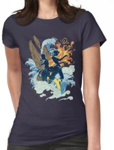 THE TWO AVATARS Womens Fitted T-Shirt