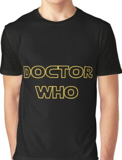 Doctor Who Meets Star Wars Graphic T-Shirt