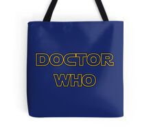 Doctor Who Meets Star Wars Tote Bag