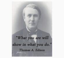 What You Are - Thomas Edison Kids Tee