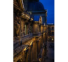 The Louvre - a Royal Palace, a Museum, an Architectural Marvel Photographic Print