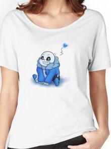 Sans Chibi T-Shirt Women's Relaxed Fit T-Shirt