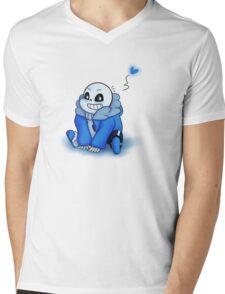 Sans Chibi T-Shirt Mens V-Neck T-Shirt