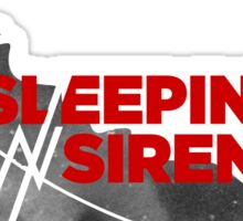 Sleeping with sirens bulu band Sticker