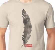 Sleeping with sirens feather band  Unisex T-Shirt