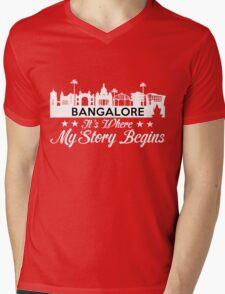 Bangalore Mens V-Neck T-Shirt