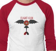 Flight Club Men's Baseball ¾ T-Shirt