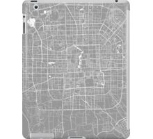Beijing map grey iPad Case/Skin