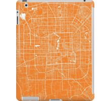 Beijing map orange iPad Case/Skin