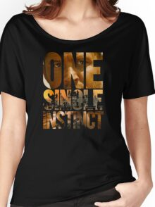 One Single Instinct Women's Relaxed Fit T-Shirt