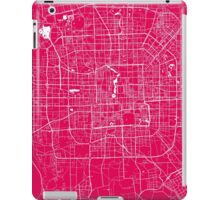 Beijing map raspberry iPad Case/Skin