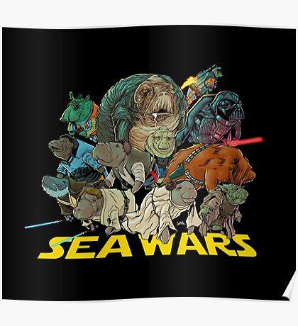 SEA WARS! Poster
