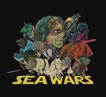 SEA WARS! Kids Tee