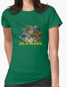 SEA WARS! Womens Fitted T-Shirt
