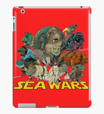 SEA WARS! iPad Case/Skin