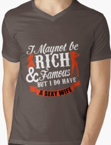 wife Mens V-Neck T-Shirt
