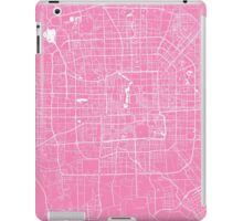 Beijing map pink iPad Case/Skin