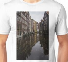 Amsterdam - Serene Fall Reflections Unisex T-Shirt