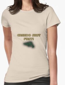 Star Wars - Greedo Shot First! Womens Fitted T-Shirt