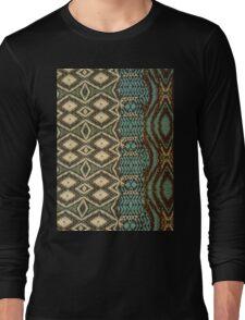 Turquoise Diamond Long Sleeve T-Shirt