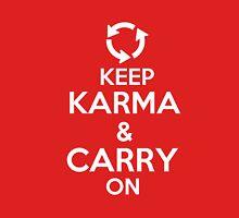 Keep Karma Carry on Unisex T-Shirt