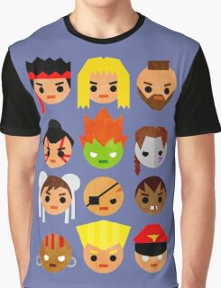 Street Fighter 2 Mini Graphic T-Shirt