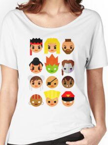 Street Fighter 2 Mini Women's Relaxed Fit T-Shirt