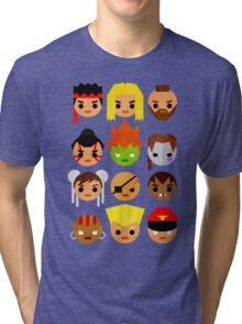 Street Fighter 2 Mini Tri-blend T-Shirt
