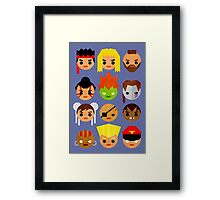 Street Fighter 2 Mini Framed Print