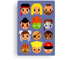 Street Fighter 2 Mini Canvas Print